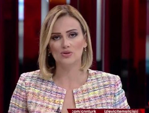CNN Türk spikerinden skandal anons