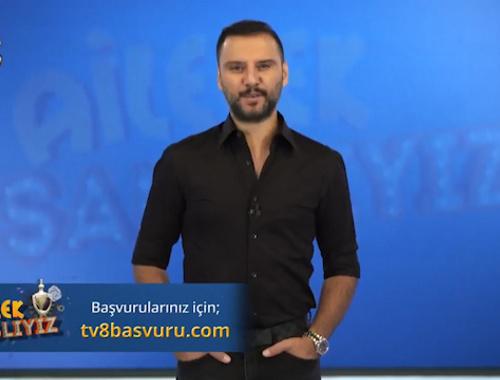 TV8'den yeni yarışma 'Ailecek Şanslıyız' tanıtımı