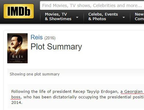 IMDb Erdoğan için bir kez daha diktatör dedi 57
