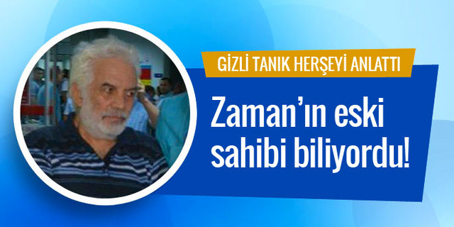 Gizli tanık Erdoğan'a suikastı ifşa etti: O biliyordu!