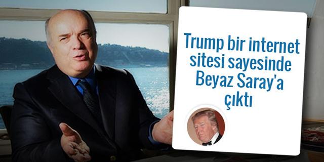 Trump, bir internet sitesi sayesinde seçildi!
