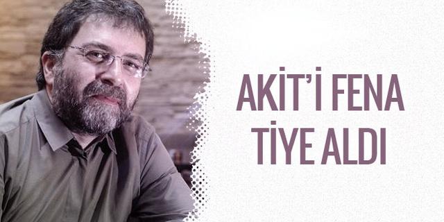 Ahmet Hakan Akit'in rüya tabiri haberibi böyle tiye aldı