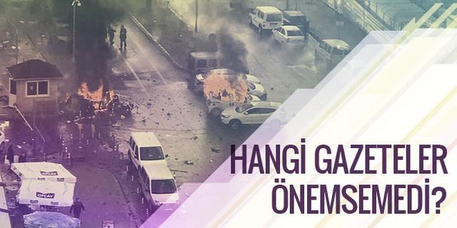 İzmir saldırısı küçük görülünce küçülür mü?