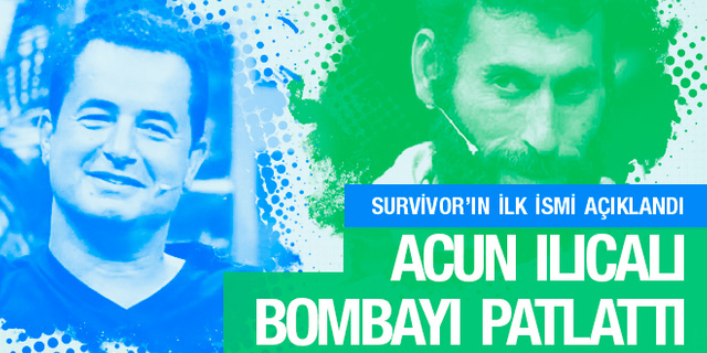Survivor 2018'in ilk yarışmacısı Iğdırlı Cumali Akgül oldu