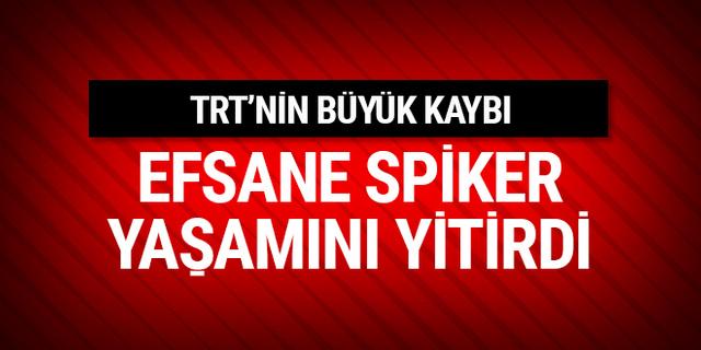 TRT'nin efsane spor spikeri Fahri İkiler yaşamını yitirdi