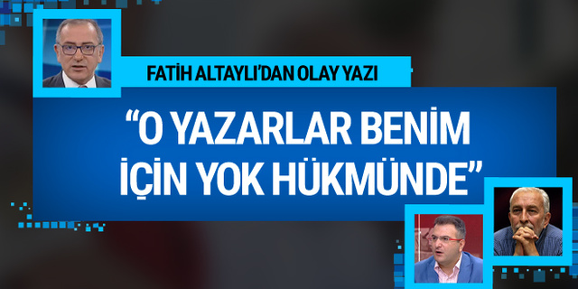 Fatih Altaylı hangi yazarlar için