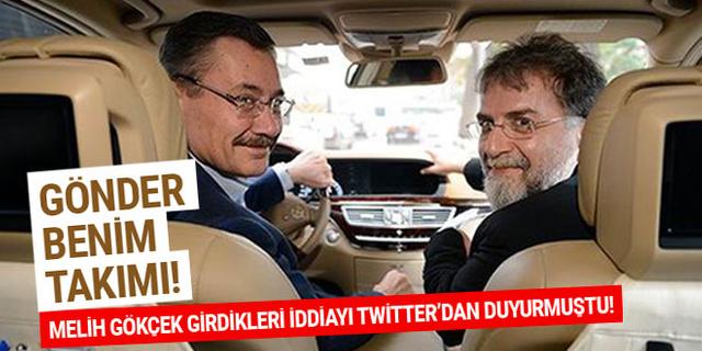 Melih Gökçek, Ahmet Hakan'la girdiği iddiayı kaybetti...