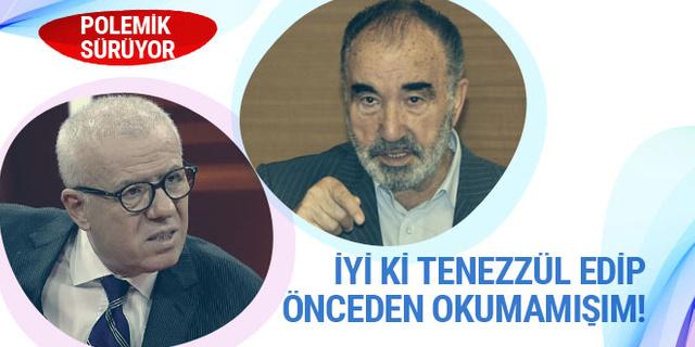 Bu polemik bitmez... Şimdi de Özkök, Karaman'a cevap verdi...