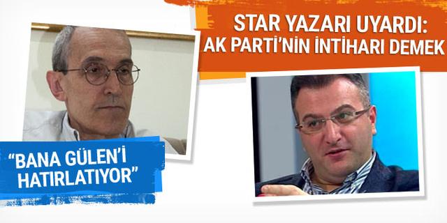 Star yazarından Cem Küçük'e Fethullah Gülen benzetmesi