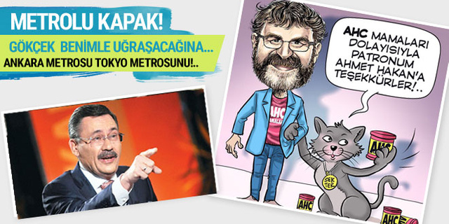 Ahmet Hakan Melih Gökçek'e fena kapak yaptı!