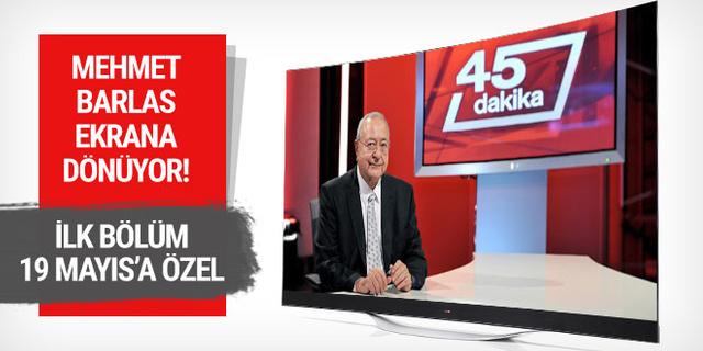 Mehmet Barlas NTV ekranına geri dönüyor