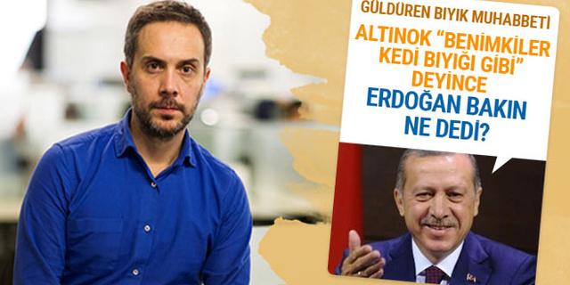 Erdoğan'dan Melih Altınok'a bıyık esprisi