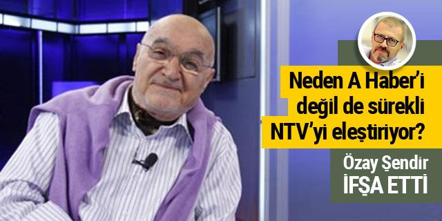 Hıncal Uluç neden A Haber'i değil de NTV'yi eleştiriyor?