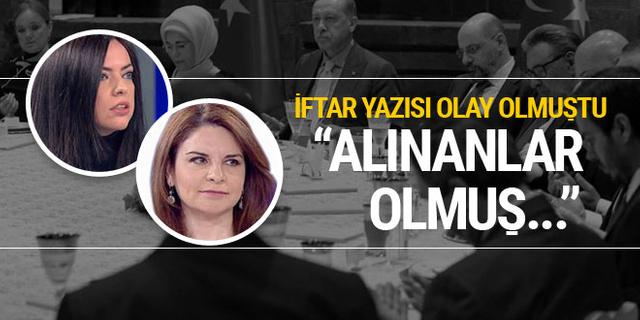 Fadime Özkan'dan o yazı için açıklama: Alınanlar olmuş...