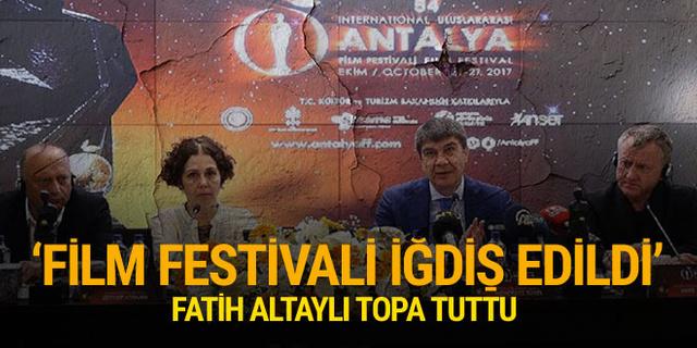 Antalya Film Festivali'nin yeni halini topa tuttu
