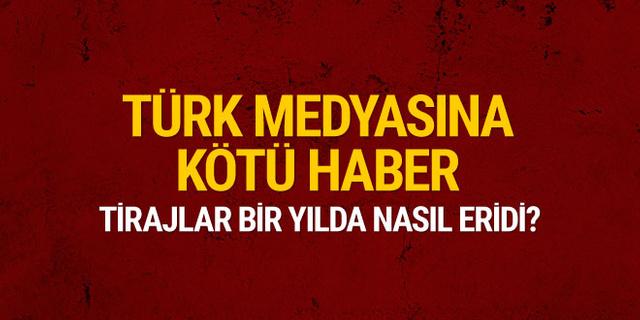 Türk medyasına kötü haber! Tirajlar bir yılda nasıl eridi?