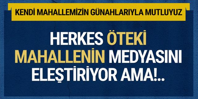 Kemal Öztürk'ten medya mahallesine