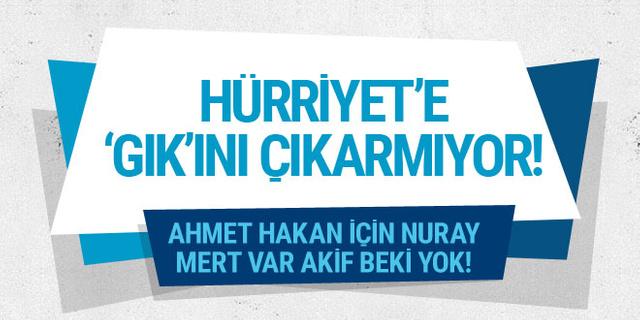 Ahmet Hakan Hürriyet'e