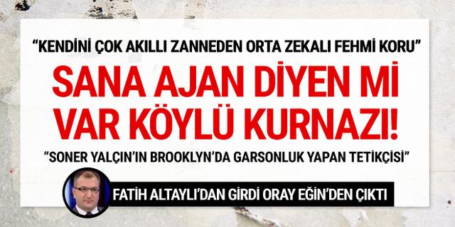 Cem Küçük: Fatih Altaylı batıyor ve batırıyor...