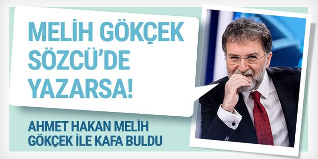 Ahmet Hakan'dan Melih Gökçek'e olay gönderme
