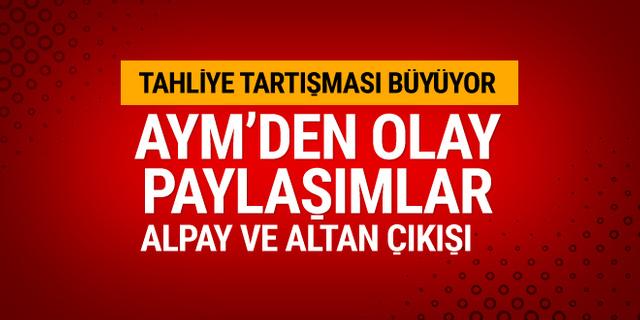 Anayasa Mahkemesi'nden Şahin Alpay ve Mehmet Altan çıkışı