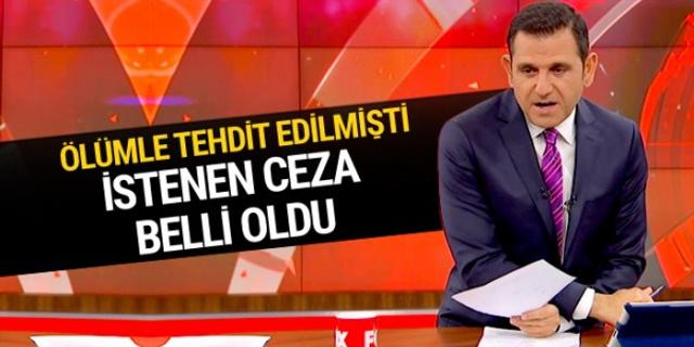 Fatih Portakal'ı ölümle tehditin cezası belli oldu
