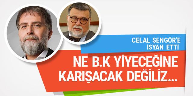 Ahmet Hakan'dan Celal Şengör'e: Ne b.k yiyeceğine...