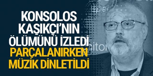 Cemal Kaşıkçı, Konsolos'un önünde öldürüldü! Kan donduran ayrıntılar