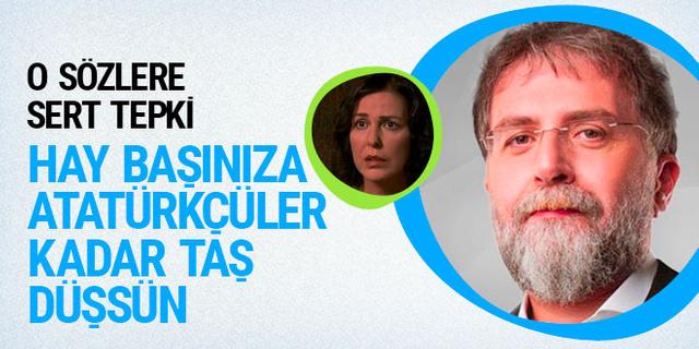 Ahmet Hakan'dan Lale Mansur'a: Hay başınıza Atatürkçüler kadar taş düşsün
