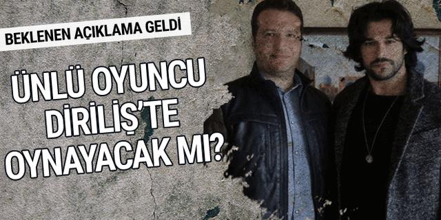 Diriliş Ertuğrul yapımcısından flaş Burak Özçivit açıklaması!