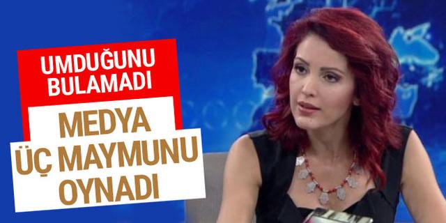 Nagehan Alçı'dan eleştiri: Ses çıkmadı, medya üç maymunu oynadı