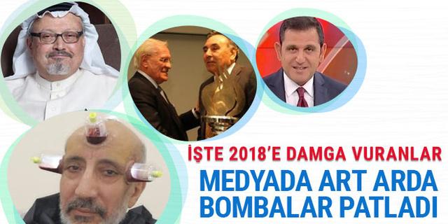 2018'e damga vuran medya olayları! Fatih Selek yazdı
