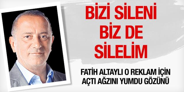 Fatih Altaylı'yı çıldırtan reklam! Bizi sileni...