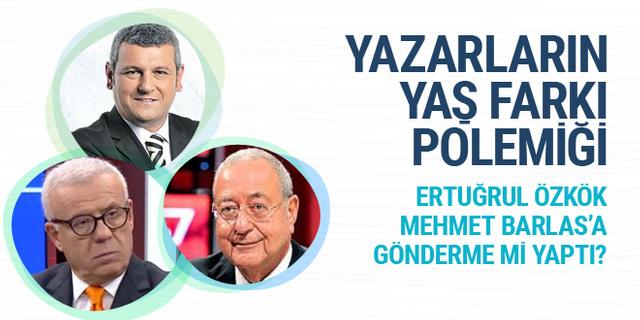 Ertuğrul Özkök Mehmet Barlas'a gönderme mi yaptı? Ersoy Dede yazdı