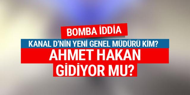 Bomba iddia! Ahmet Hakan gidiyor mu?
