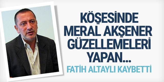 Fatih Altaylı kaybetti