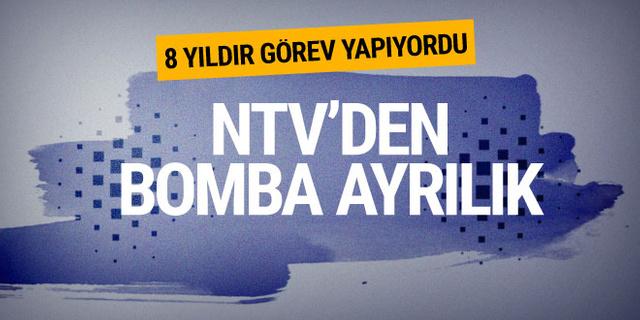 NTV'den bomba ayrılık! Ünlü ekran yüzü veda etti?