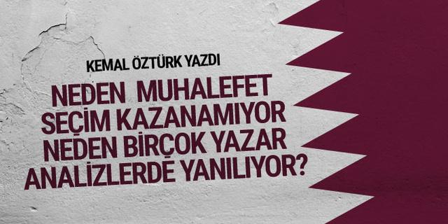 Kemal Öztürk: Seçmenin ihtiyaç listesi, siyasetçinin beceriksiz olanı