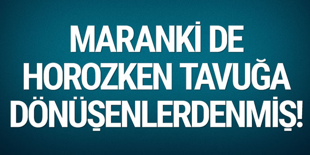 Sevilay Yılman: Maranki de horozken tavuğa dönüşenlerdenmiş!
