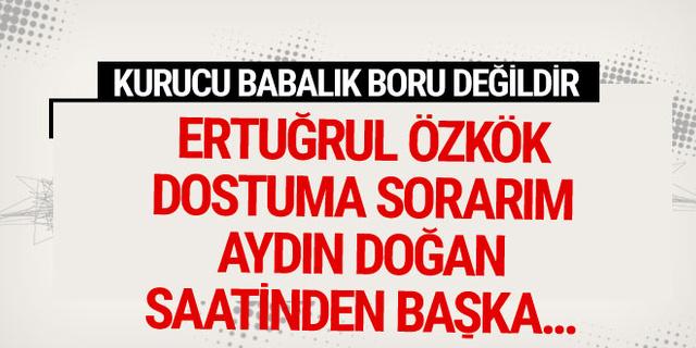 Fatih Altaylı yazdı: Kurucu babalık boru değildir