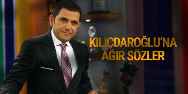 Fatih Portakal'dan Kılıçdaroğlu'na ağır sözler