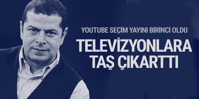 Cüneyt Özdemir'in Seçim 2018 Yayını izlenme rekoru kırdı