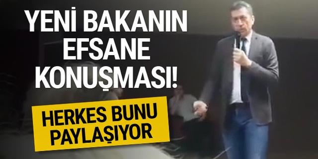 Yeni Milli Eğitim Bakanı Ziya Selçuk'un sosyal medyayı sallayan konuşması