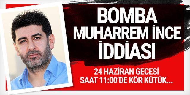 Levent Gültekin'den bomba Muharrem İnce iddiası! O gece...