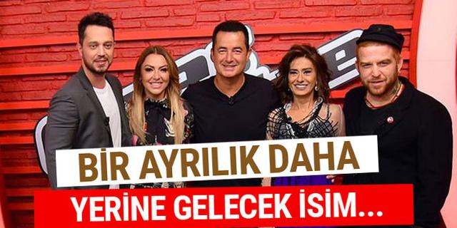 Athena Gökhan'ın ardından O Ses Türkiye'de bir ayrılık daha!