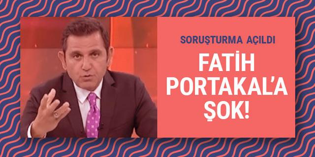 Fatih Portakal'a şok! Soruşturma açıldı