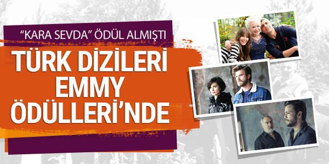 Türk dizileri 46. Uluslararası Emmy Ödülleri'nde