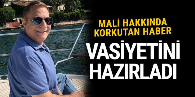 Mehmet Ali Erbil hakkında korkutan gelişme! Vasiyetini hazırladı