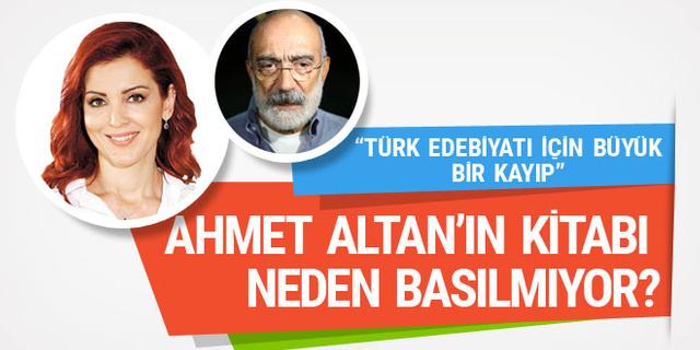 Nagehan Alçı açıkladı: Ahmet Altan'ın kitabı neden basılmıyor?