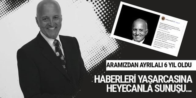 Mehmet Ali Birand'ı özlemle anıyoruz...